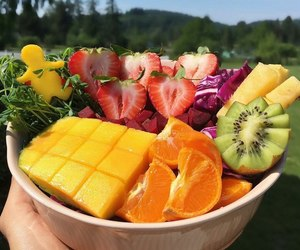 fruit and sweet image