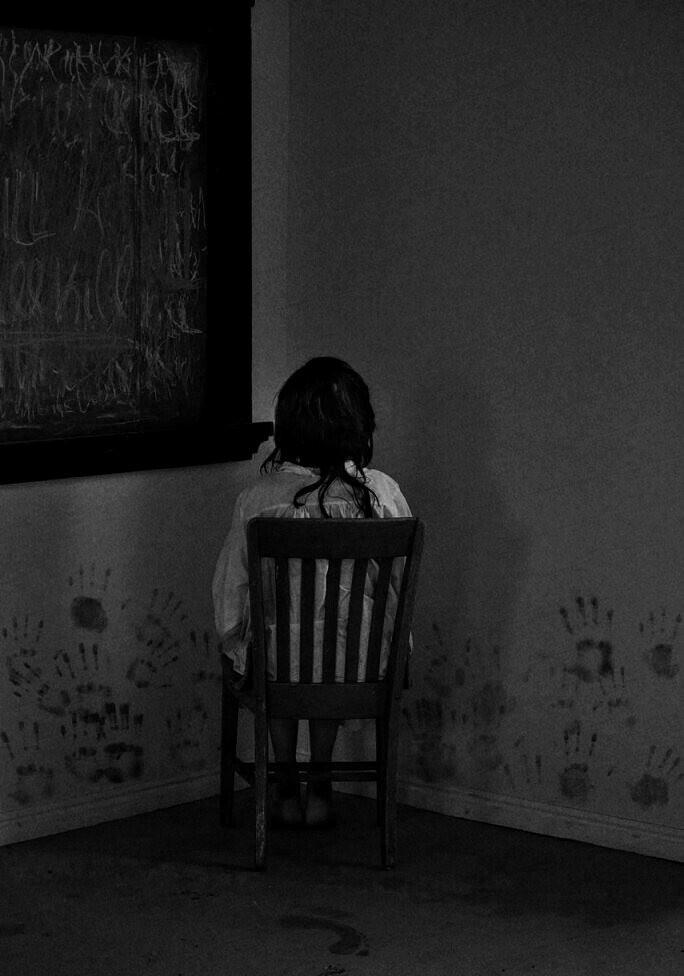 dark and scary image
