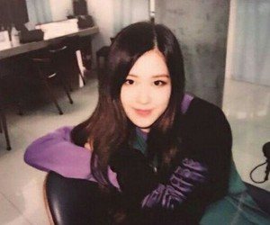 rose, blackpink, and polaroid image