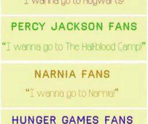 harry potter ., the hunger games ., and percy jackson . image