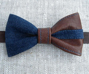 accessory, bowtie, and handmade image