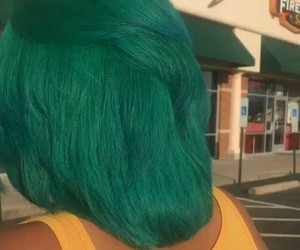 beautiful, color, and dyed hair image