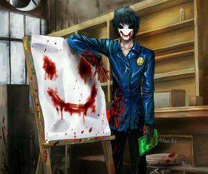 creepypasta, creppypastas, and bloody painter image