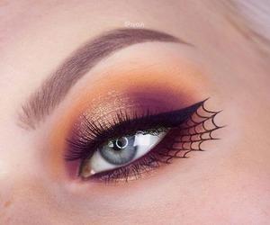 Halloween, contest, and eye makeup image