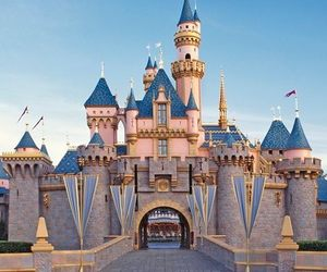 california, cities, and disneyland image