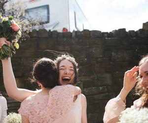 bride, friends, and demoiselles image