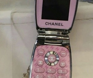 chanel and flip phone image