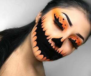 Halloween, makeup, and inspiration image