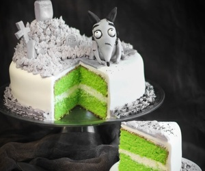 cake, green, and food image