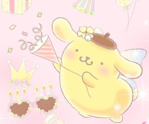 kawaii, sanrio, and pompompurin image