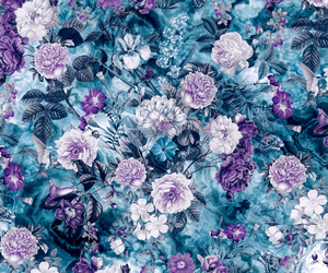 flowers, background, and Collage image