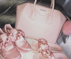Givenchy, pink, and puma image