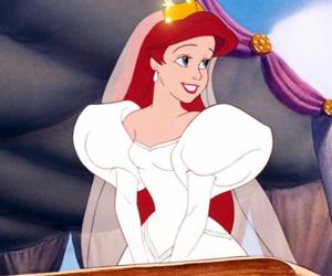 princess, ariel, and disney image