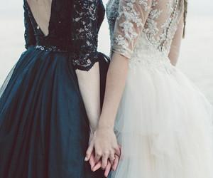 dress, girl, and lesbian image