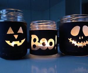 dark, night, and boo! image
