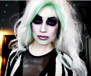 beetlejuice, makeup, and contest image