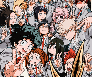 boku no hero academia, anime, and my hero academia image