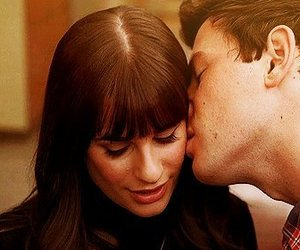glee, cory monteith, and rachel berry image