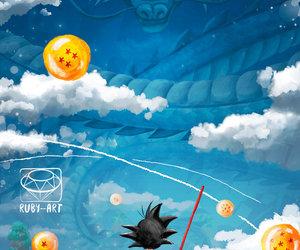 dragonball and goku image