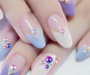 korean and nails image