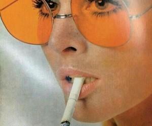 orange, vintage, and aesthetic image