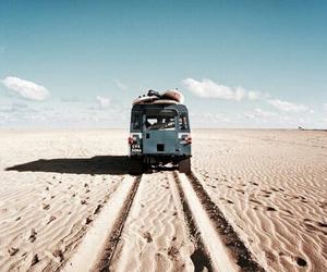 travel, sand, and desert image