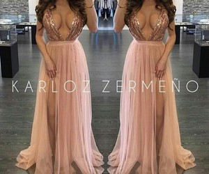 dresses, pink, and tumblr image
