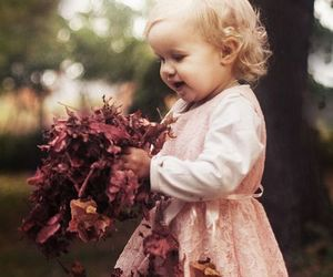 autumn, baby, and fall image