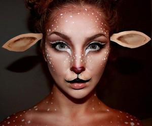 Halloween and deer image