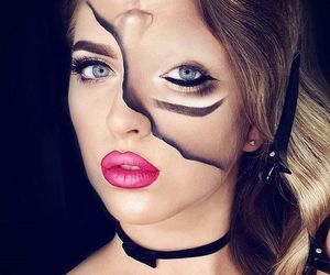 makeup and Halloween image