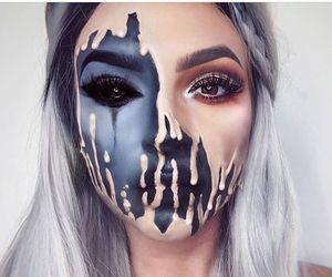 beauty, halloween beauty, and Halloween image