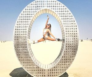 art, Burning Man, and fit image