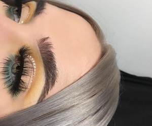 eyes, make up, and girl image