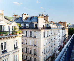 city, building, and france image