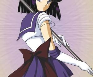 anime, sailor moon, and sailor saturn image