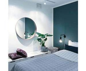 bedroom, grey, and gris image