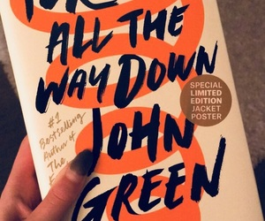 all, johngreen, and book image