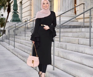 fashion, modest, and pretty image
