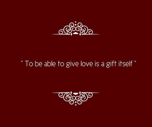 gift, giving, and givelove image