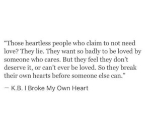 quotes, words, and heartless image