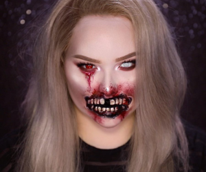 demon, Halloween, and nikkietutorials image