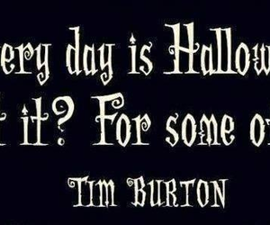 Halloween, tim burton, and dark image