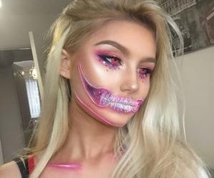 Halloween, halloween makeup, and makeup image