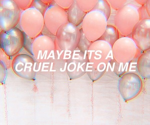aesthetic, balloons, and crybaby image