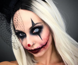 clown, Halloween, and inspiration image