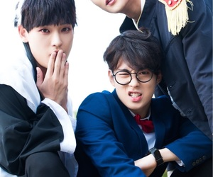 rowoon, dawon, and inseong image