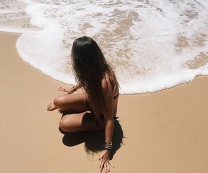 happiness, sea, and summer image