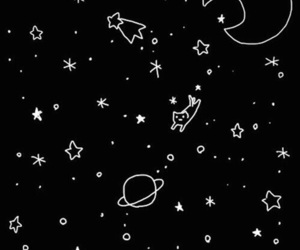 stars, space, and background image