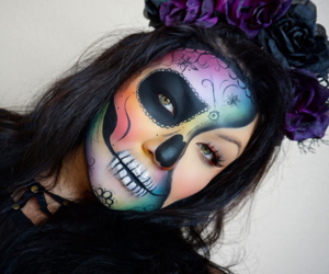 colors, Halloween, and inspiration image