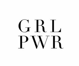 girl power and grl pwr image